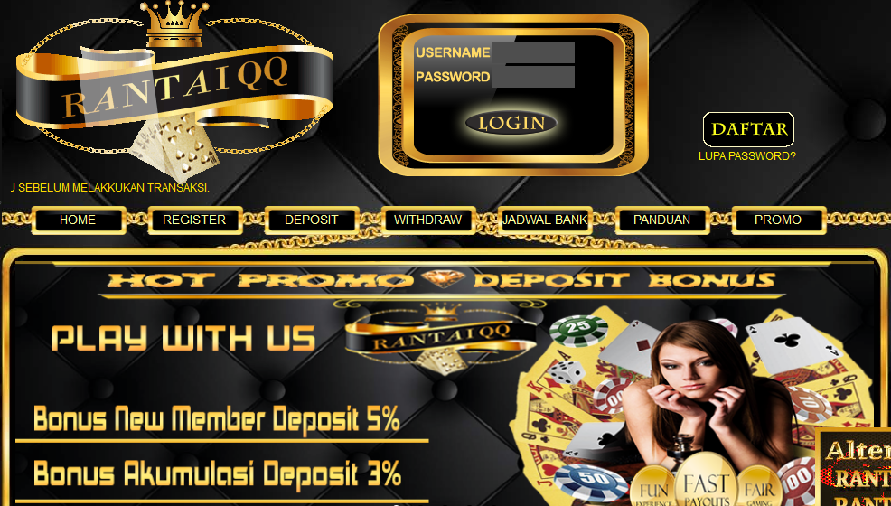 hyperlink alternatif sbobet on line casino