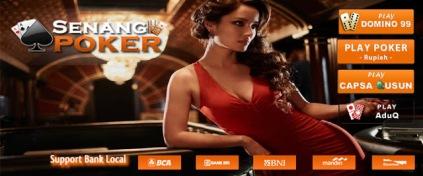 SENANG77.COM Situs Bandar Kiu Online Terpercaya serta Agen Poker Online Terbaik Di Indonesia